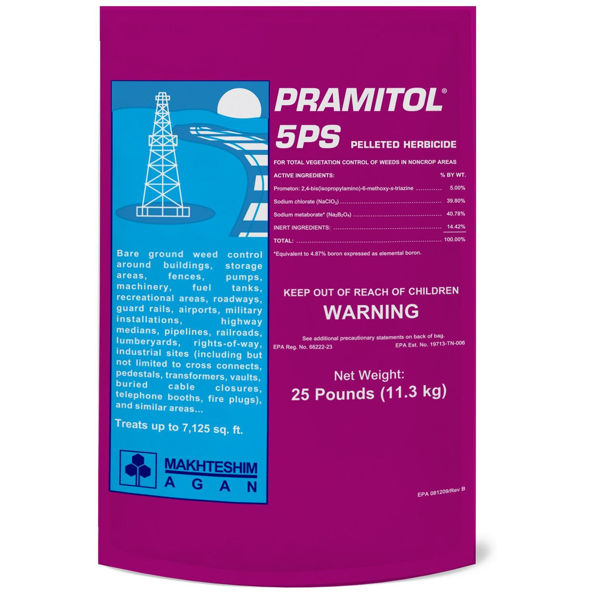 Pramitol 5PS Pelleted Herbicide - 25 Lbs. - Seed World