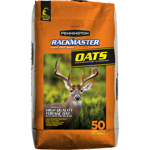 Rackmaster Oats Food Plot Seed - 50 lbs.