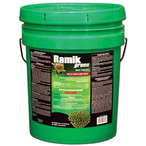 Neogen Ramik Green Rodenticide Bait Packs - 15 Lbs.