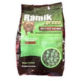 Neogen Ramik Green Rodenticide Nuggets - 4 Lbs.