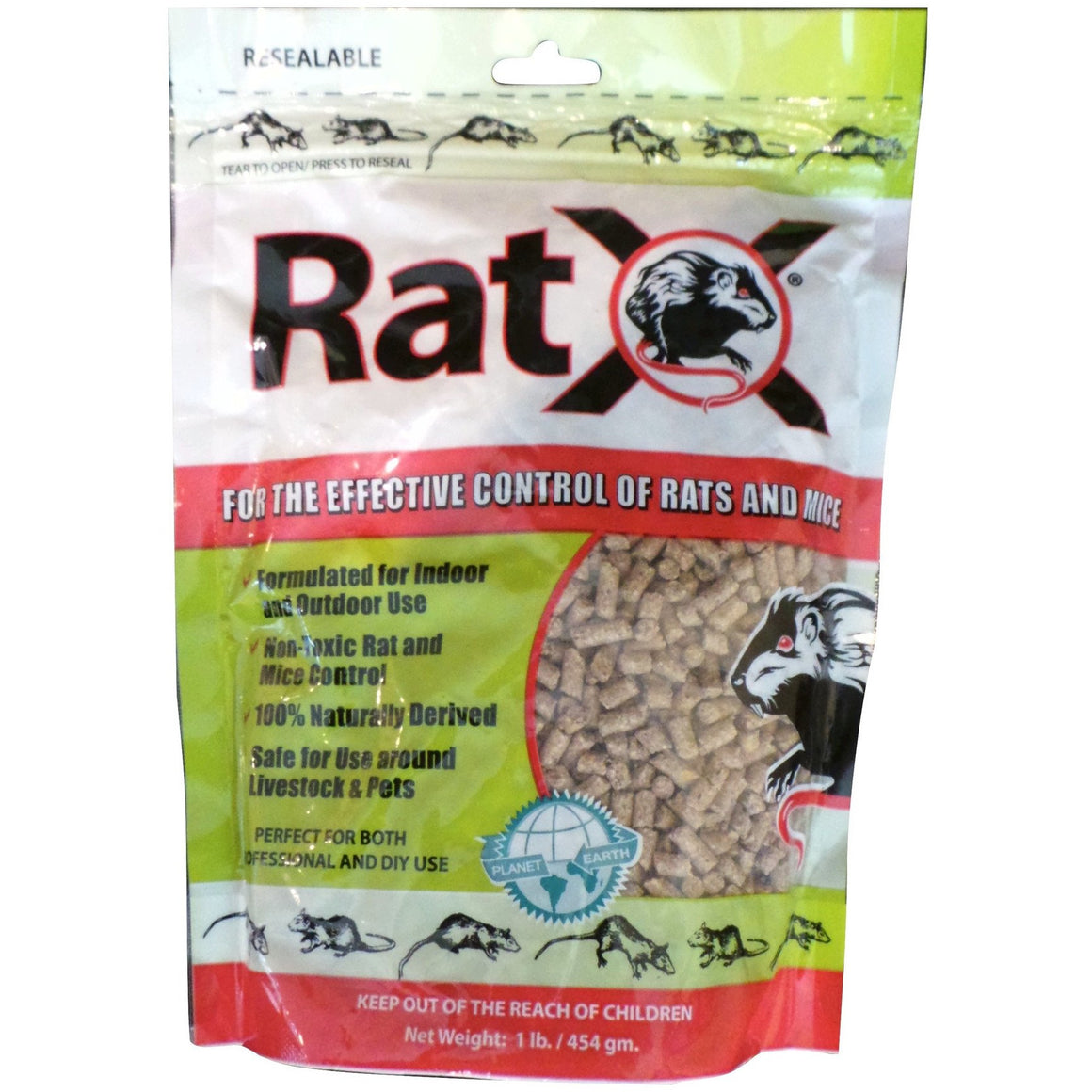 Rat X Rat and Mouse Killer - 1 Lb.