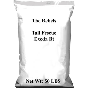 Rebels Tall Fescue Grass Seed - 50 Lbs