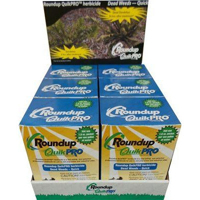 Roundup Quikpro Herbicide Net 30 QuickPro Packets - 1.5 Oz.