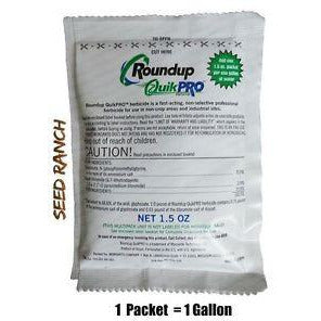 Roundup Quikpro Herbicide 1 QuickPro Packet - 1.5 Oz. - Seed World