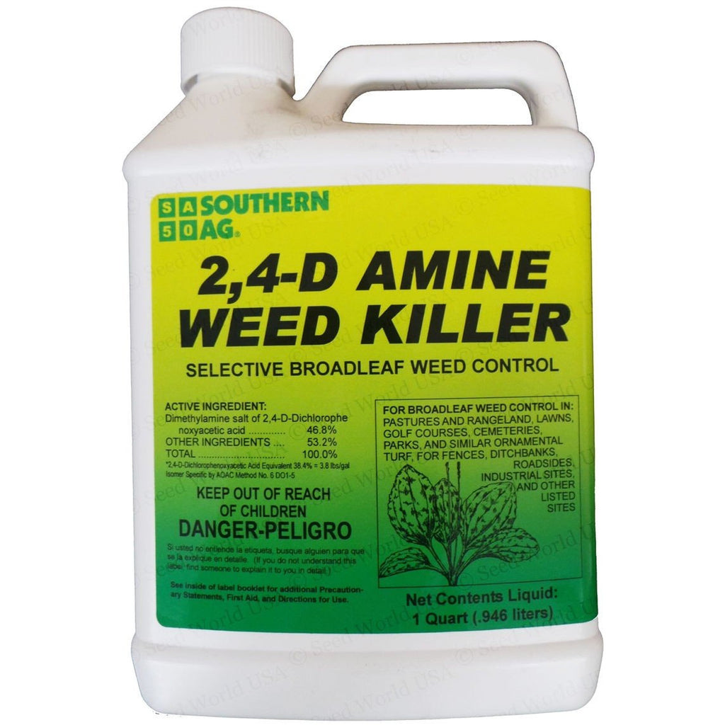 S.A 2,4-D Amine Weed Killer Herbicide - 1 Qt. | Seed World