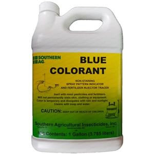 Blue Colorant Sprayer Indicator