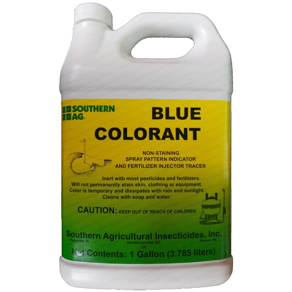 Southern AG Blue Colorant - 1 Gallon - Seed World