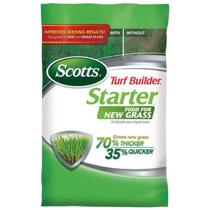 Scotts Lawn Starter 24-25-4 Fertilizer - 15 Lbs.