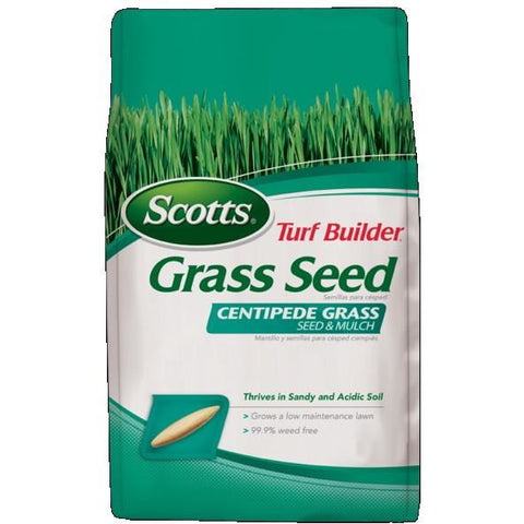 Scotts Turf Builder Centipede Seed & Mulch - 5 Lbs.