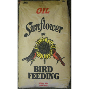 Shafer Black Oil Bird Food Seed - 50 Lbs.