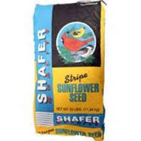 Shafer Striped Sunflower Seed Bird Food - 50 Lbs.