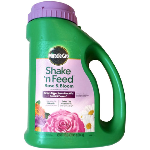 Miracle Gro 9-18-9 Rose and Bloom Fertilizer - 4.5 Lbs.