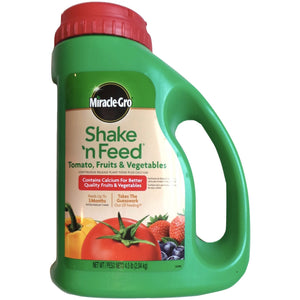 Miracle Gro 9-4-12 Tomato Fruits and Vegetables Fertilizer - 4.5 Lbs.