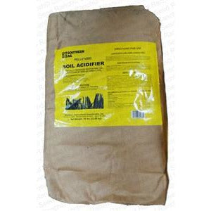 soil acidifier pellets 50 lbs