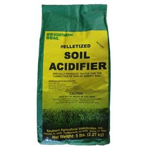Soil Acidifier Pellets (90% Sulfur) - 5 Lbs. - Seed World