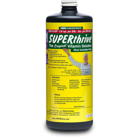 Superthrive Liquid Plant Nutrients - 1 Quart
