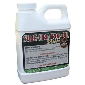 Whitetail Institute Sure-Fire Crop Oil Plus - 1 pint - Seed World
