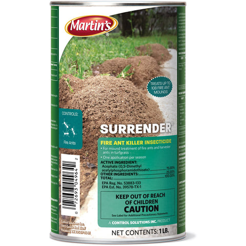 Surrender Fire Ant Killer Acephate - 1 Lb.