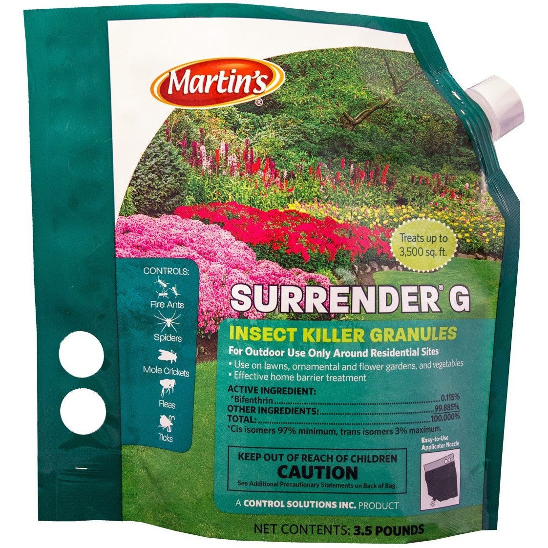 Surrender G Insect Killer Bifenthrin Granules - 3.5 Lbs.