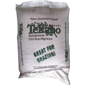 Tekapo Orchard Grass Seed (Certified)