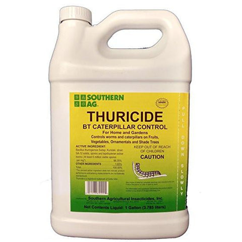Thuricide BT Caterpillar Control Spray - 1 Gallon