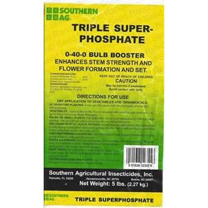 Triple Super Phosphate Bulb Booster 0-40-0 Fertilizer - 5 Lbs.