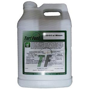 Turf Fuel 20-0-0 w/Minors Fuel Liquid Turf Fertilizer - 2.5 Gallons