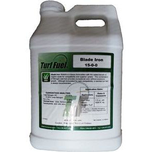 Turf Fuel Blade Iron 15-0-0 Liquid Turf Fertilizer - 2.5 Gallons - Seed World