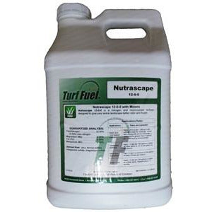 Turf Fuel Nutriscape 12-0-0 Liquid Turf Fertilizer - 2.5 Gallons