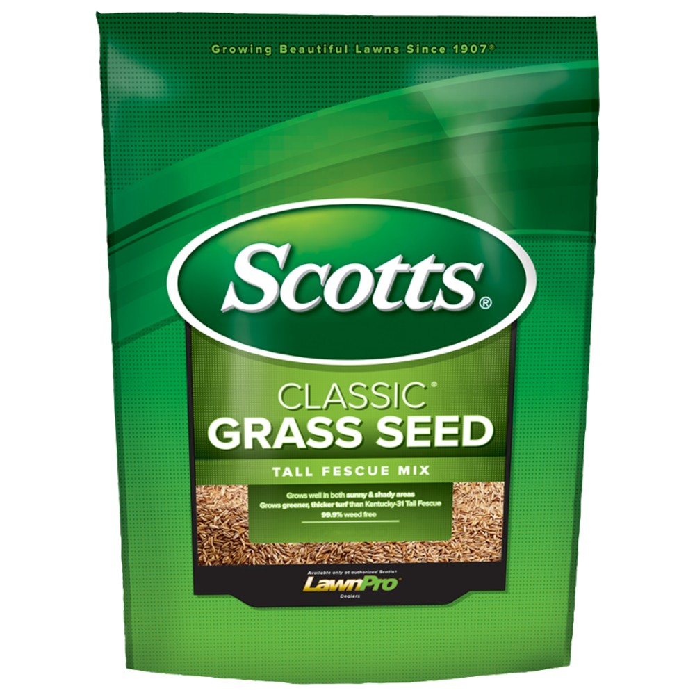 Scotts Classic Grass Seed Tall Fescue Mix - 20 lbs - Seed World
