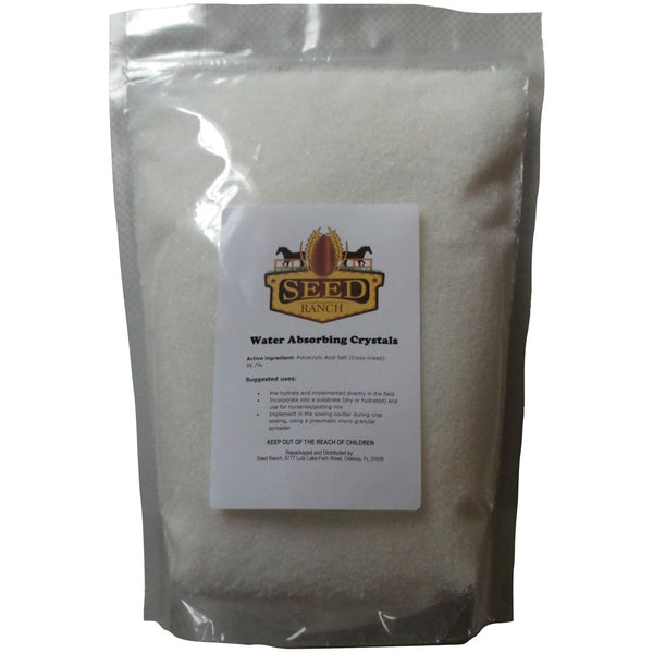 Soil Moist Water Absorbing Polymer Crystal - 8 Oz. - Seed