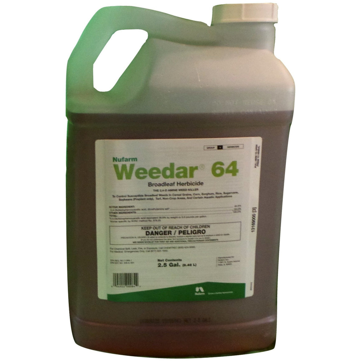 Weedar 64 Broadleaf 2,4-D Herbicide - 1 Gallon