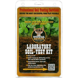 Whitetail Laboratory Soil-Test Kit - Seed World