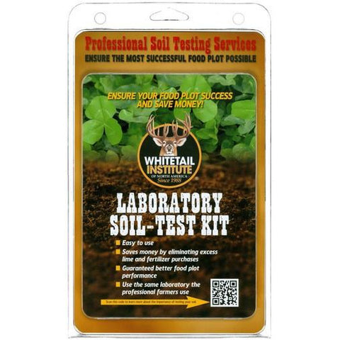 Whitetail Laboratory Soil-Test Kit