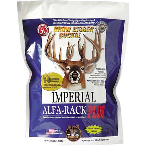 Imperial Whitetail Alfa-Rack Plus Seed - 4 Oz.