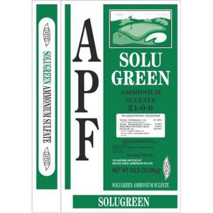 APF SoluGreen Water Soluble Ammonium Sulfate 21-0-0 Fertilizer - 50 Lbs.
