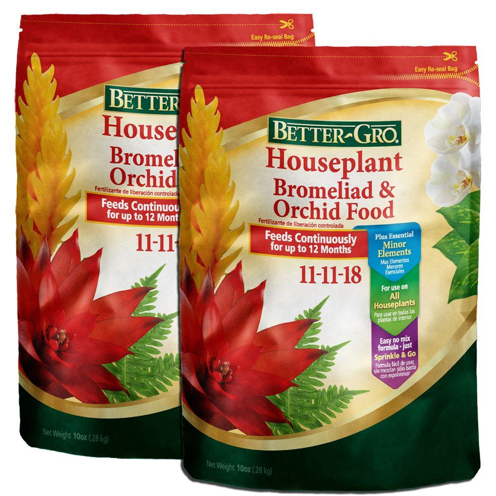 Better-Gro Houseplant Bromeliad & Orchid Food 11-11-18 Fertilizer - 10 oz. - Seed World