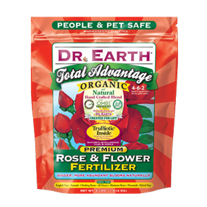Dr Earth Total Advantage Organic Premium Rose & Flower Fertilizer - 4 lbs
