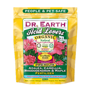 Dr Earth Acid Lovers Organic Premium Azalea, Camellia, Rhododendron & Maple Fertilizer - 4 lbs - Seed World