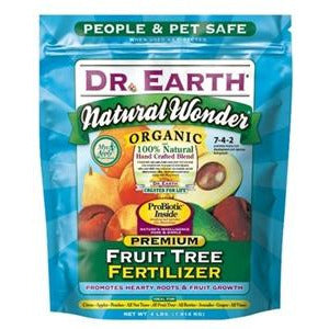 Dr Earth Natural Wonder Organic Premium Fruit Tree Fertilizer - 4 lbs