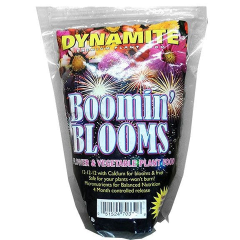 Dynamite Boomin' Blooms Flower & Vegetable Plant Fertilizer