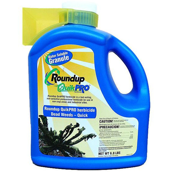 Roundup QuikPro Herbicide - 6.8 Lbs. - Seed World