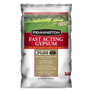 Pennington Fast Acting Gypsum Fertilizer - 30 lbs - Seed World