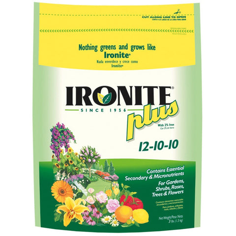 Ironite Plus Lawn and Plant Food - 3 Lbs.