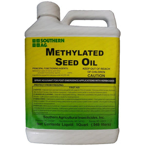 Methylated Seed Oil MSO Surfactant - 1 Quart - Seed World