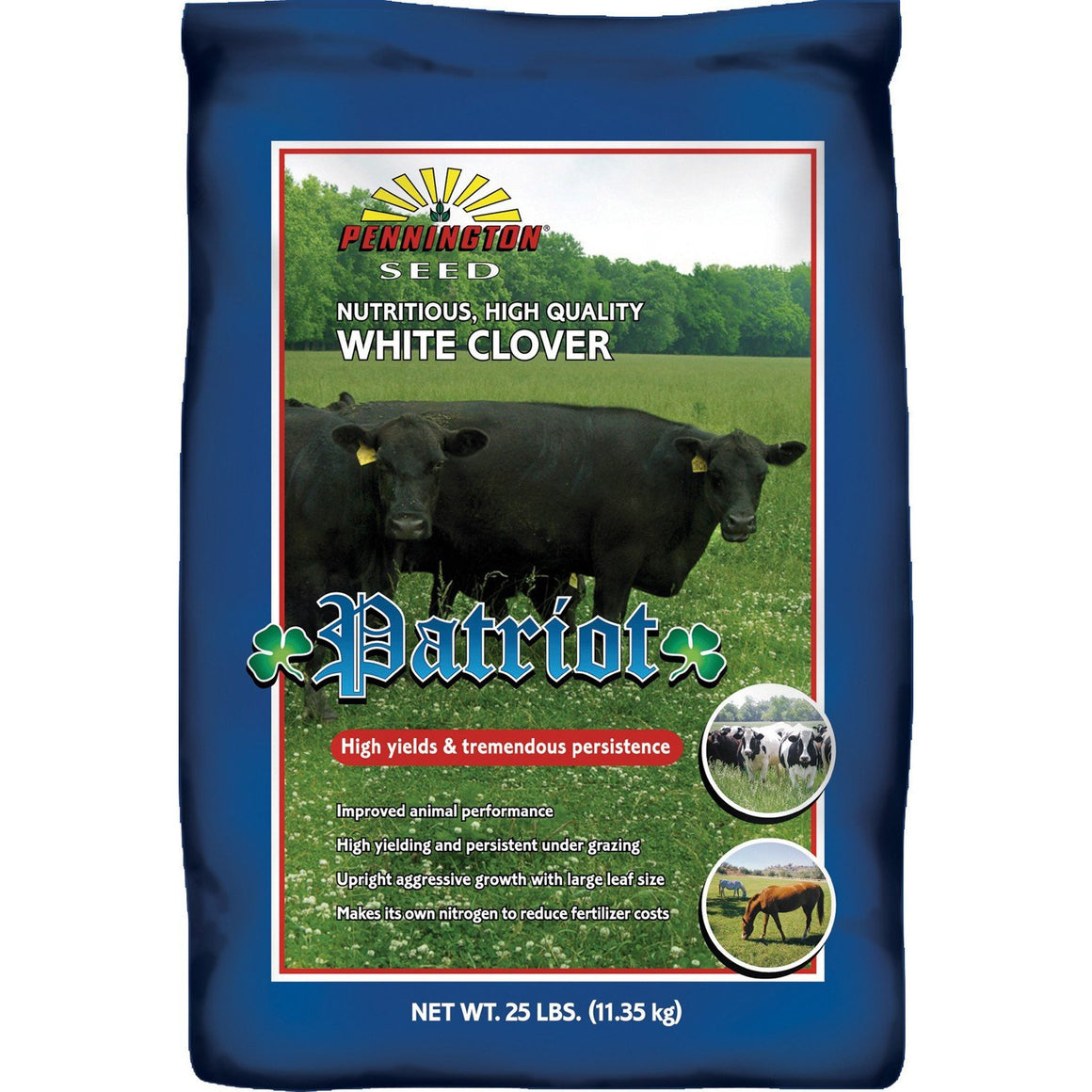 Patriot Clover Seed 25 Lbs.