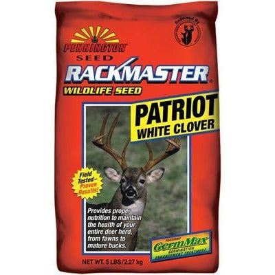 patriot white clover food plot seed