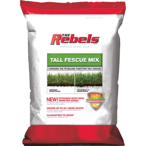 Rebel Tall Fescue Grass Seed 3 Lbs.