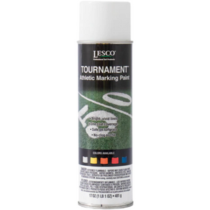 LESCO Tournament Athletic Striping Paint White - 17 oz. - Seed World