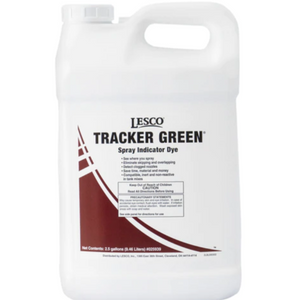 LESCO Tracker Liquid Spray Dye Indicator Green - 2.5 Gallon - Seed World